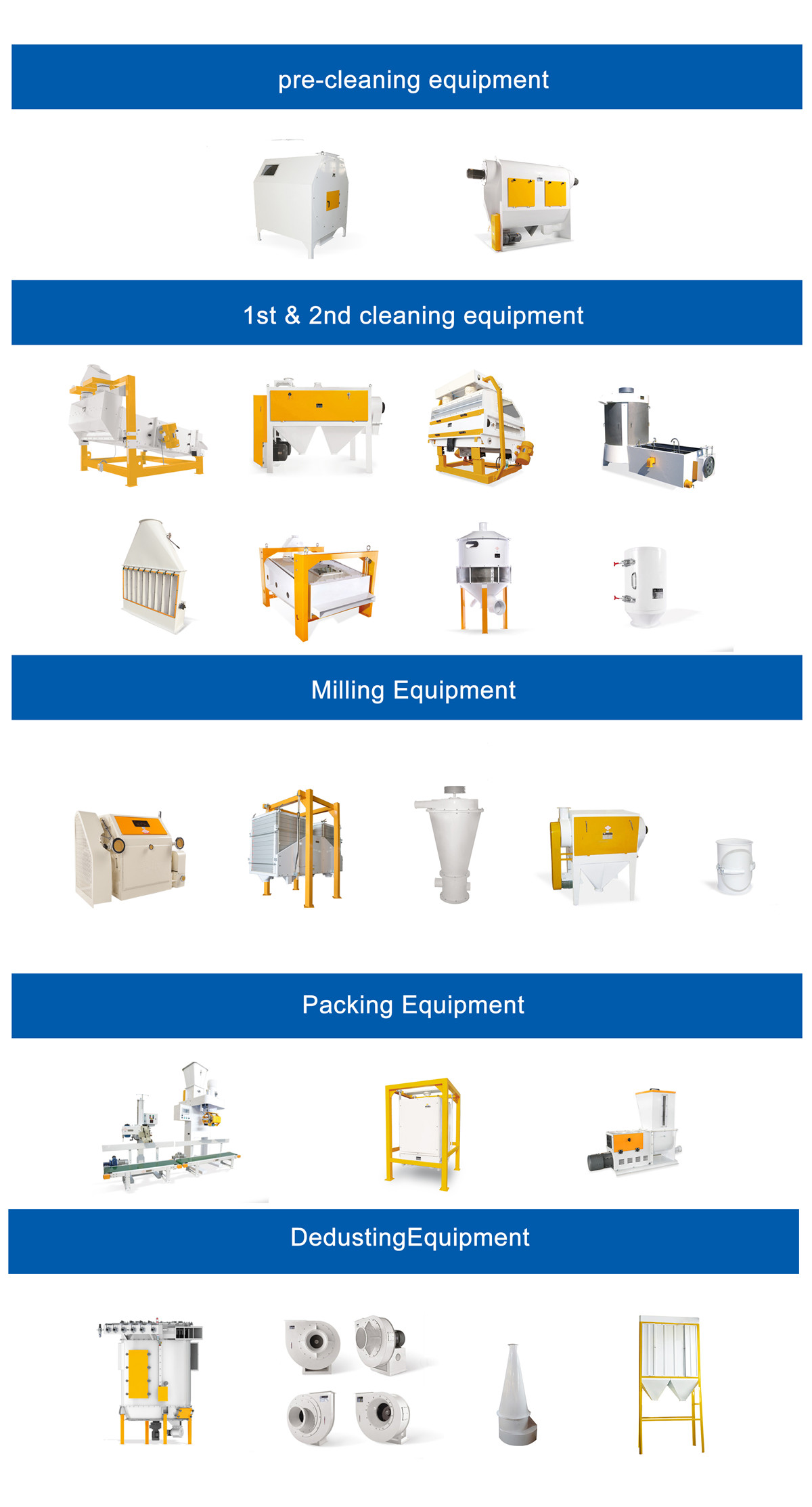 Compact Structure Wheat Flour Mill