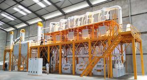50TPD Maize Milling Machine