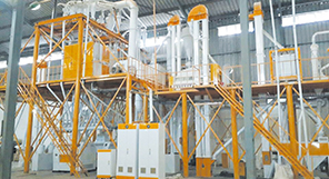 100TPD Maize Milling Machine