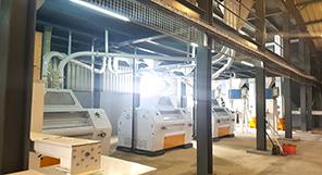 150TPD Maize Milling Machine
