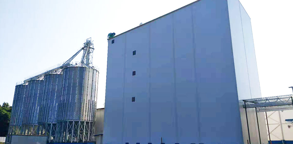 Russia 180TPD Wheat Milling Turnkey Project
