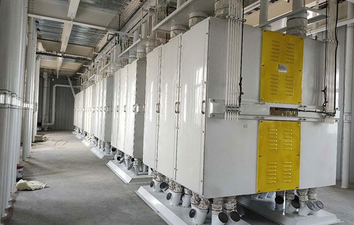 Multi-story Steel Structure Wheat Flour Milling Plant/Machine