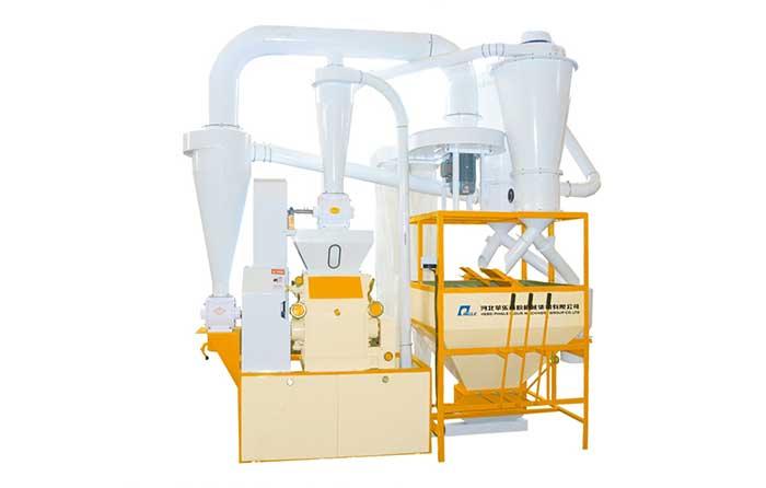 Family Workshop Wheat  Flour Milling Plant