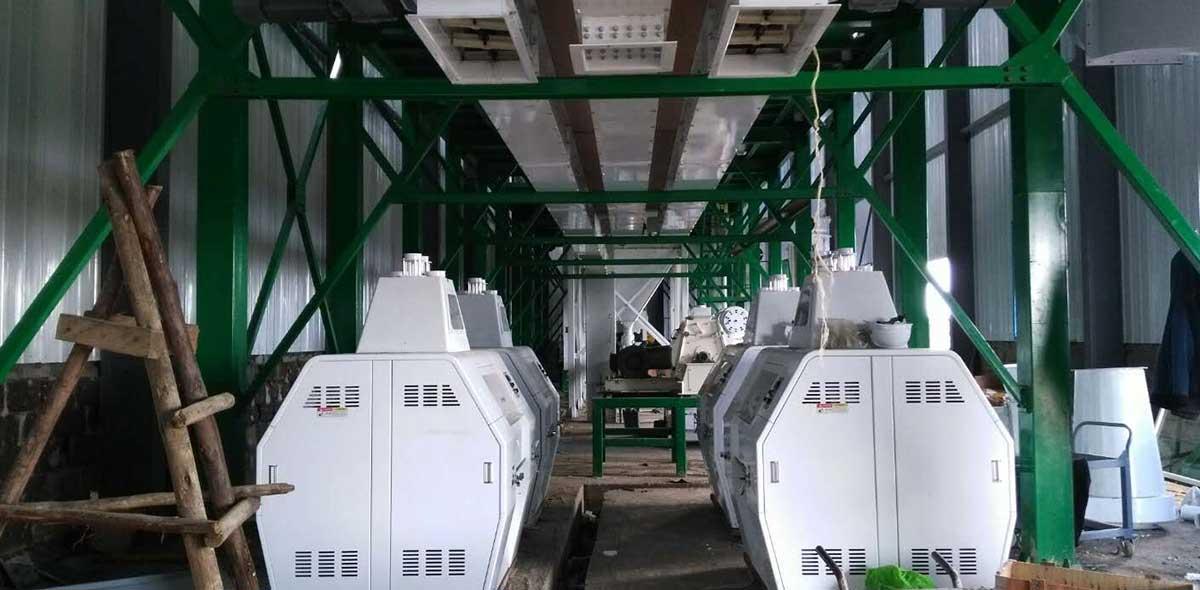 Kenya 100TPD Maize Milling Plant