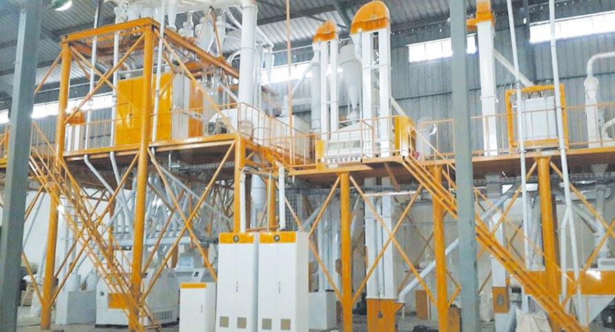 Malawi 100TPD Maize Milling Plant