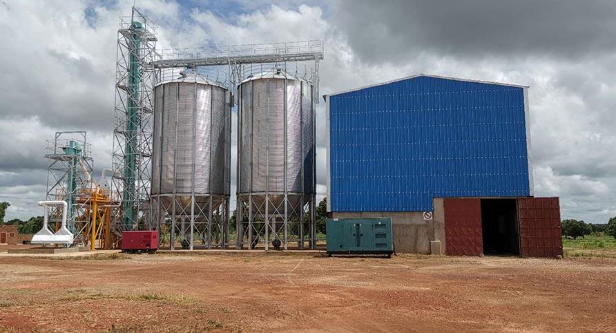BURKINA FASO 70TPD Maize Milling Plant