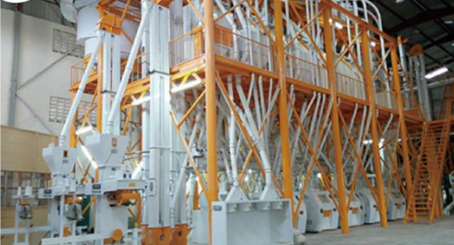 Uganda 140TPD Wheat Milling Plant