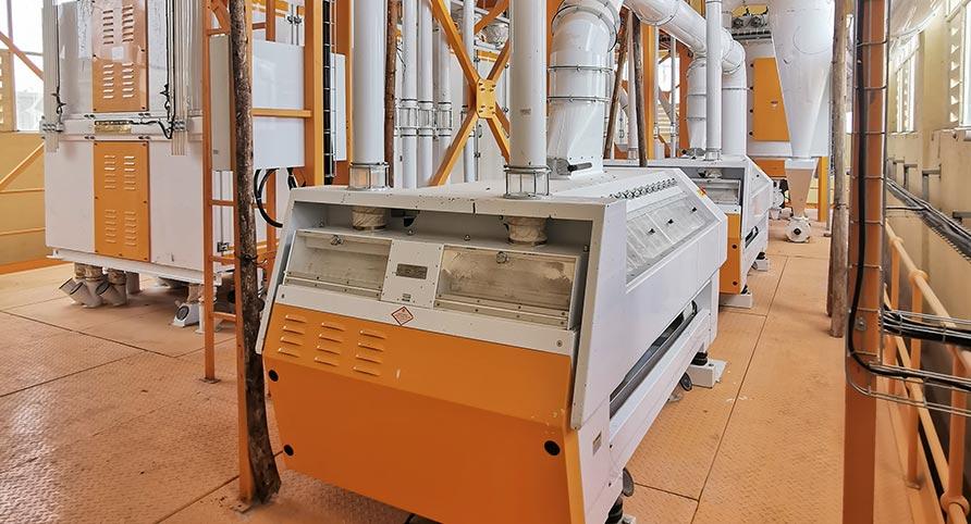 Ethiopia 120TPD Wheat Milling Plant