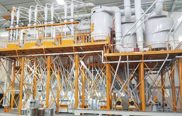 Steel Structure Wheat Flour Milling Plant