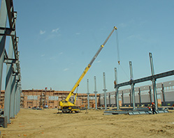 In 2012 The extension project of production lines of grain processing equipment put into construction officially;