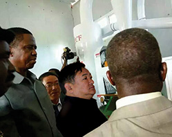 In 2015 successfully signing the project of Zambian solar powered flour mill project, which created a new historical high in single-time sales of the company