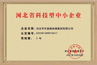 Hebei Science and Technology Small and Medium Enterprises