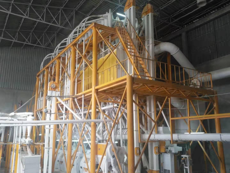 Ethiopia 140TPD Wheat Milling Plant
