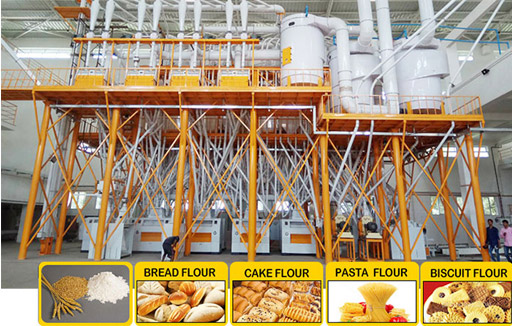 What are the Measures to Maintain the Stable Production of Wheat Flour Machinery?